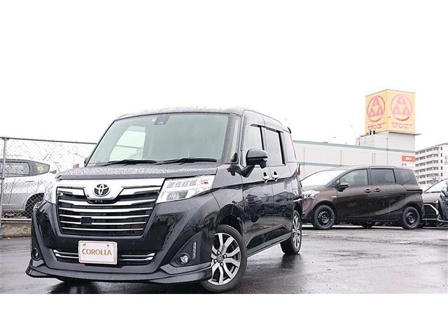 沖縄の中古車 トヨタ ルーミー 車両価格 156万円 リ済別 2017(平成29)年 3.8万km クロ