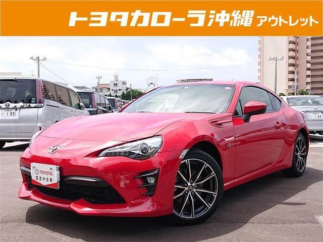 うるま市 トヨタカローラ沖縄(株)中部店 トヨタ 86 GT レッド 1.5万km 2018(平成30)年