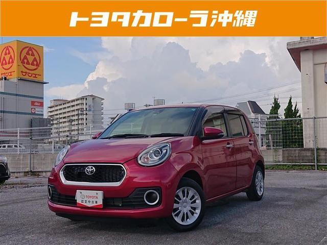 沖縄の中古車 トヨタ パッソ 車両価格 105万円 リ済別 2016(平成28)年 1.6万km ピンク