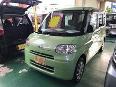 沖縄の中古車 ダイハツ タント 車両価格 62万円 リ済込 平成22年 7.1万K グリーン