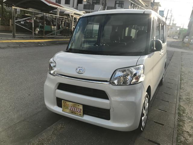 沖縄の中古車 ダイハツ タント 車両価格 92万円 リ済込 平成26年 3.7万km パール