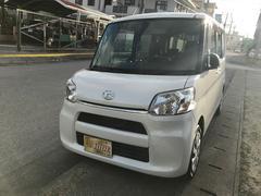沖縄の中古車 ダイハツ タント 車両価格 99万円 リ済込 平成26年 3.7万K パール