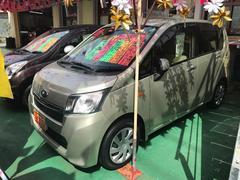 沖縄の中古車 スバル ステラ 車両価格 63万円 リ済込 平成25年 4.7万K シャンパンゴールド