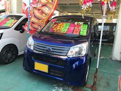 沖縄の中古車 スバル ステラ 車両価格 103万円 リ済込 平成27年 1.7万K ブルー