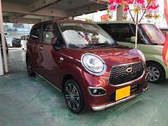 沖縄の中古車 ダイハツ キャスト 車両価格 106万円 リ済込 平成27年 1.5万K ワイン
