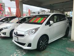 沖縄の中古車 トヨタ ラクティス 車両価格 86万円 リ済込 平成27年 4.6万K パール