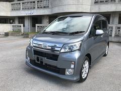 沖縄の中古車 ダイハツ ムーヴ 車両価格 57万円 リ済込 平成25年 10.6万K グレー