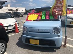 沖縄の中古車 スズキ MRワゴン 車両価格 69万円 リ済込 平成25年 5.7万K ライトブルー