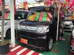 沖縄の中古車 ダイハツ タント 車両価格 82万円 リ済込 平成26年 8.4万K プラムブラウンクリスタルマイカ