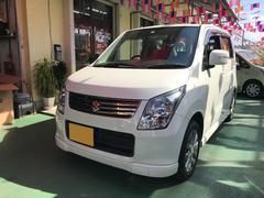 沖縄の中古車 スズキ ワゴンR 車両価格 62万円 リ済込 平成24年 7.2万K パール