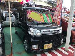沖縄の中古車 ダイハツ タント 車両価格 116万円 リ済込 平成28年 2.0万K ブラック