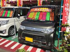 沖縄の中古車 ダイハツ タント 車両価格 82万円 リ済込 平成24年 7.4万K ブロンズオリーブパールメタリック