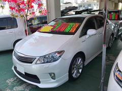 沖縄の中古車 トヨタ SAI 車両価格 112万円 リ済込 平成22年 6.4万K ホワイトパールクリスタルシャイン