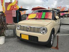 沖縄の中古車 スズキ アルトラパン 車両価格 102万円 リ済込 平成29年 2.0万K ベージュ