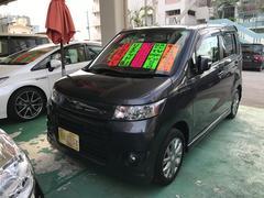 沖縄の中古車 スズキ ワゴンRスティングレー 車両価格 59万円 リ済込 平成23年 7.2万K グレー