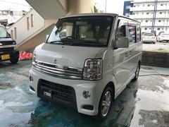 沖縄の中古車 スズキ エブリイワゴン 車両価格 73万円 リ済込 平成22年 4.7万K パール
