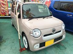 沖縄の中古車 ダイハツ ミラココア 車両価格 106万円 リ済込 平成30年 0.4万K ベージュ