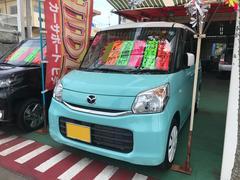 沖縄の中古車 マツダ フレアワゴン 車両価格 102万円 リ済込 平成28年 1.4万K グリーンII