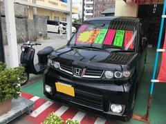 沖縄の中古車 ホンダ ゼストスパーク 車両価格 56万円 リ済込 平成23年 5.7万K ブラック