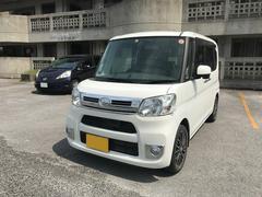 沖縄の中古車 ダイハツ タント 車両価格 82万円 リ済込 平成26年 7.5万K ホワイト