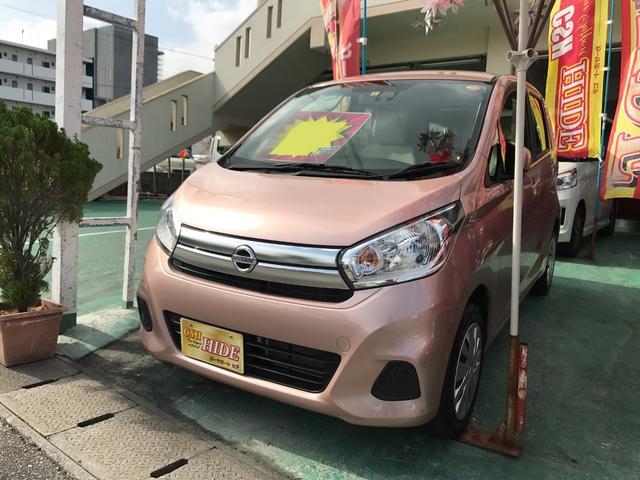 沖縄の中古車 日産 デイズ 車両価格 76万円 リ済込 平成28年 2.5万km ピンク