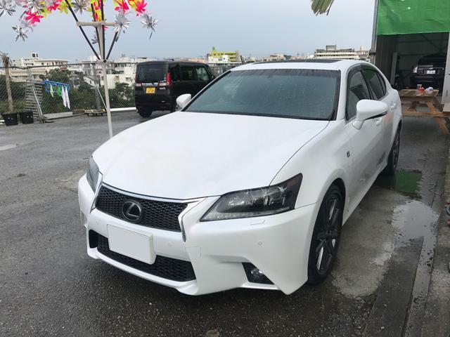 沖縄県の中古車ならGS GS350 Fスポーツ プリクラッシュセーフティー