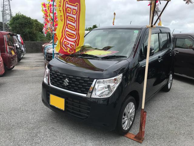 沖縄県の中古車ならワゴンR FXリミテッド ナビ