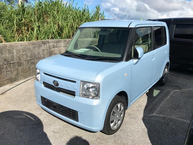 沖縄の中古車 トヨタ ピクシススペース 車両価格 69万円 リ済込 2016(平成28)年 4.4万km ライトブルー