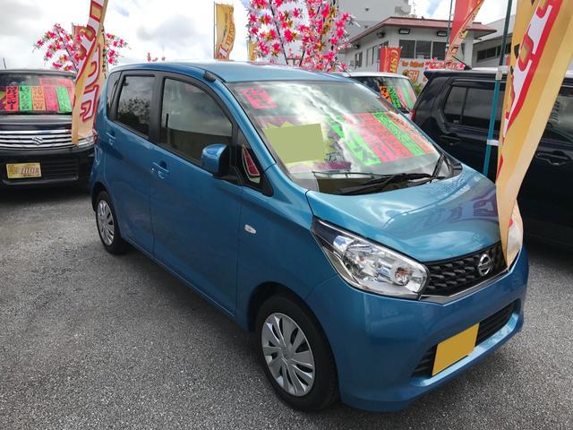 沖縄の中古車 日産 デイズ 車両価格 52万円 リ済込 2013(平成25)年 6.8万km ブルー