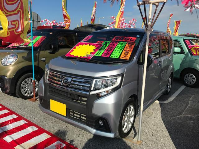 沖縄県沖縄市の中古車ならムーヴ カスタム X SAII 社外フルセグナビ