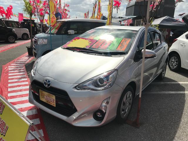 沖縄県の中古車ならアクア Sスタイルブラック セーフティセンス