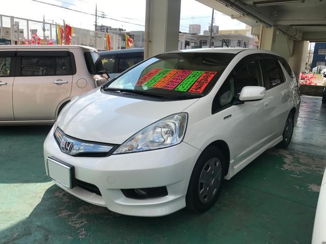 沖縄県の中古車ならフィットシャトルハイブリッド ハイブリッド・スマートセレクション ファインライン