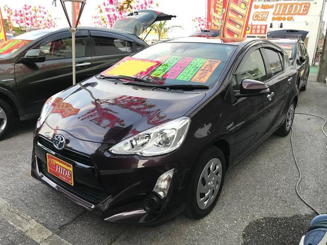 沖縄県の中古車ならアクア Sスタイルブラック フルセグナビ バックモニター