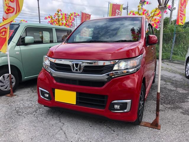 沖縄県の中古車ならN-WGNカスタム G・ターボパッケージ ナビ