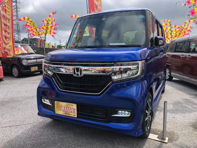 沖縄県の中古車ならN-BOXカスタム G EXホンダセンシング