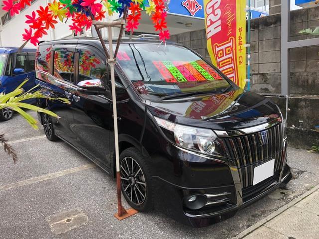 沖縄県沖縄市の中古車ならエスクァイア ハイブリッドGi ナビTV