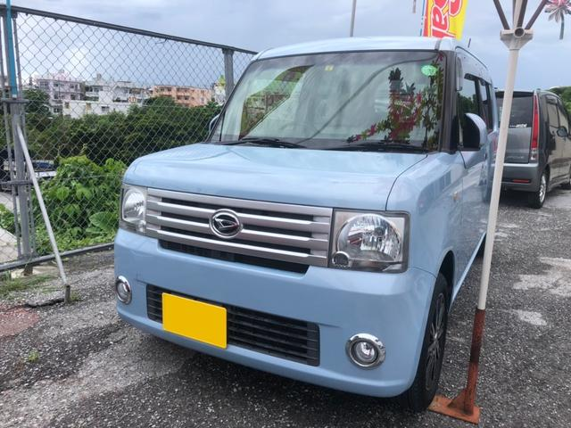 沖縄の中古車 ダイハツ ムーヴコンテ 車両価格 72万円 リ済込 2015(平成27)年 8.0万km ライトブルー