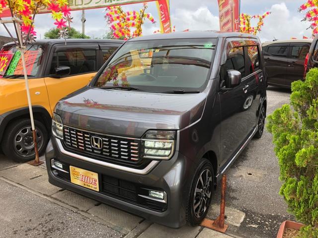 沖縄県の中古車ならN-WGNカスタム Lホンダセンシング ナビTV