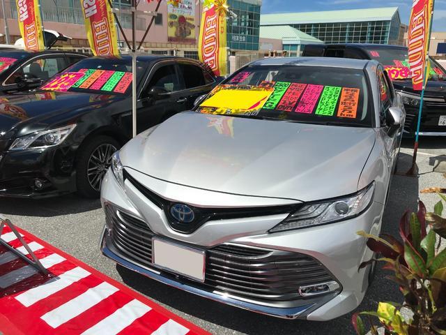 沖縄県の中古車ならカムリ G