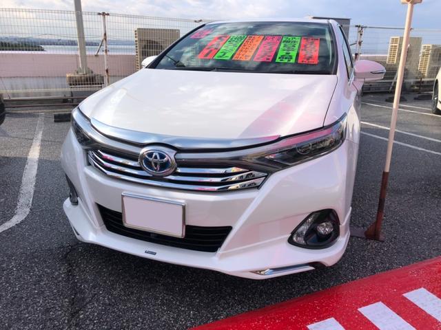 沖縄県の中古車ならSAI S Cパッケージ モデリスタエアロ サンルーフ