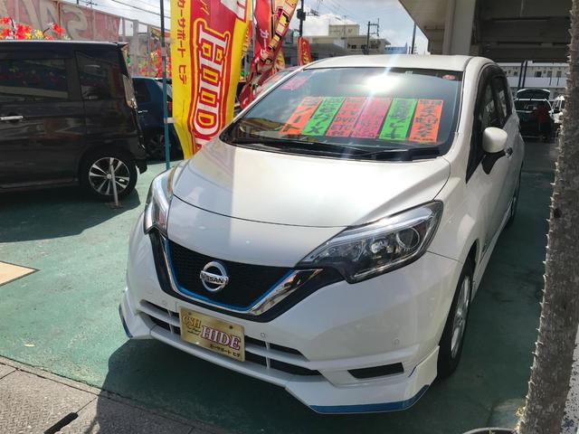 沖縄県の中古車ならノート e-パワー X 純正ナビTV