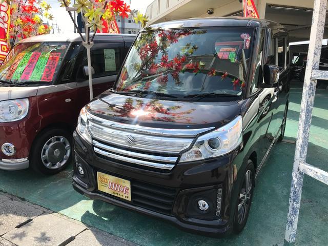 沖縄県の中古車ならスペーシアカスタム XS デュアルカメラブレーキサポート アイドリングストップ