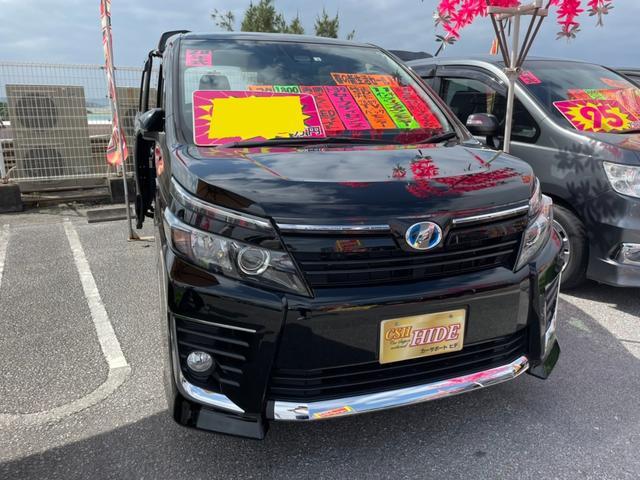 沖縄県の中古車ならヴォクシー ハイブリッドZS トヨタセーフティセンス フルセグSDナビ