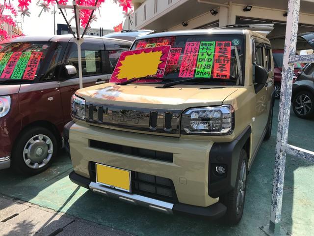 沖縄県の中古車ならタフト G 純正ナビTV バックモニター