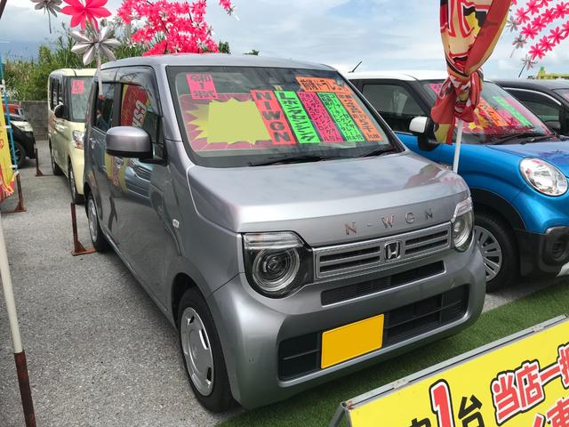 沖縄県の中古車ならN-WGN Lホンダセンシング 前後ドライブレコーダー