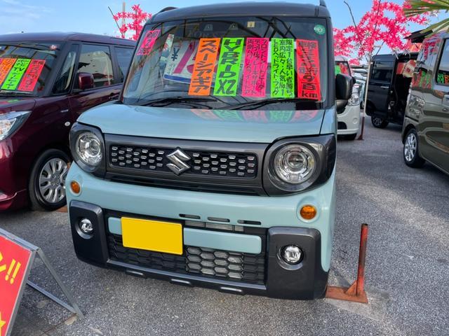 沖縄県の中古車ならスペーシアギア ハイブリッドXZ デュアルカメラブレーキサポート