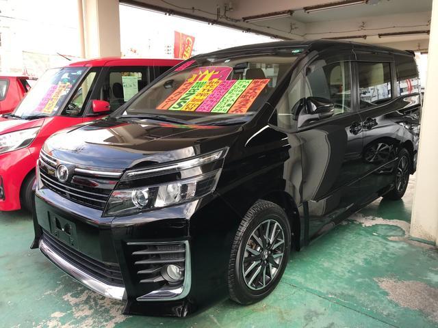 沖縄県の中古車ならヴォクシー ZS 社外ナビTV ブルートゥース