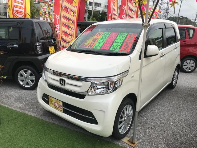 沖縄の中古車 ホンダ N-WGN 車両価格 72万円 リ済込 2017(平成29)年 6.3万km パール