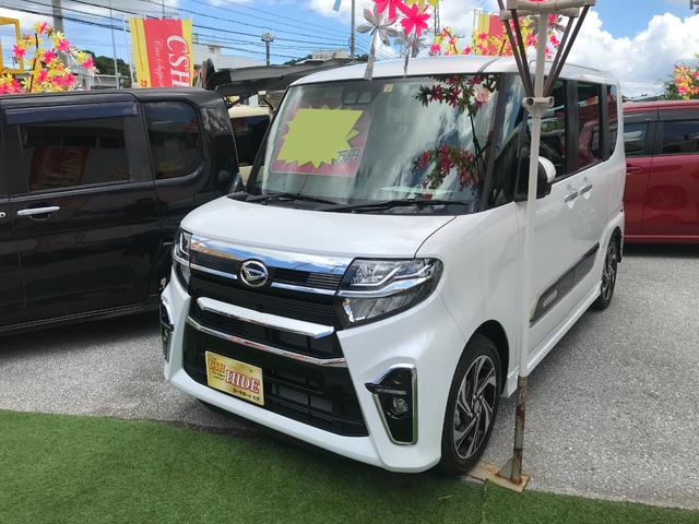 沖縄県の中古車ならタント カスタムRSスタイルセレクション ナビTV ブルートゥース