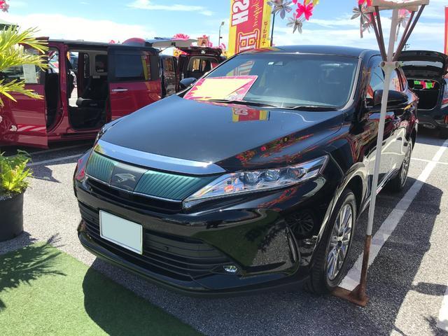 沖縄県の中古車ならハリアー プレミアム ナビTV ブルートゥース